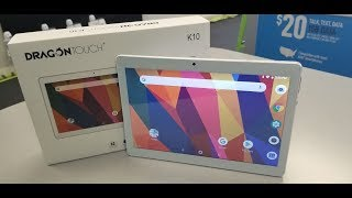Dragon Touch K10 2019 Tablet Unboxing and Review