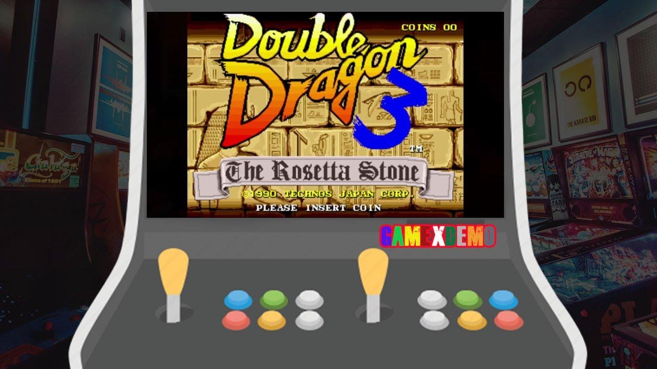 Arcade Game Double Dragon 3 The Rosetta Stone Youtube
