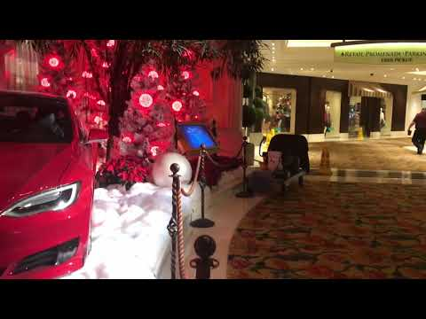 BEAU RIVAGE HOTEL LOBBY | CHRISTMAS DECORATIONS LIGHTING