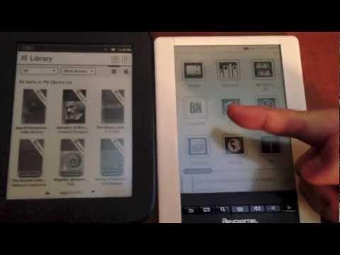 how to play youtube on pandigital novel