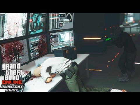 GTA 5 | SOMOS HACKERS PROFESIONALES!!! MISIÓN GTA V DLC DOOMSDAY HEIST | XxStratusxX
