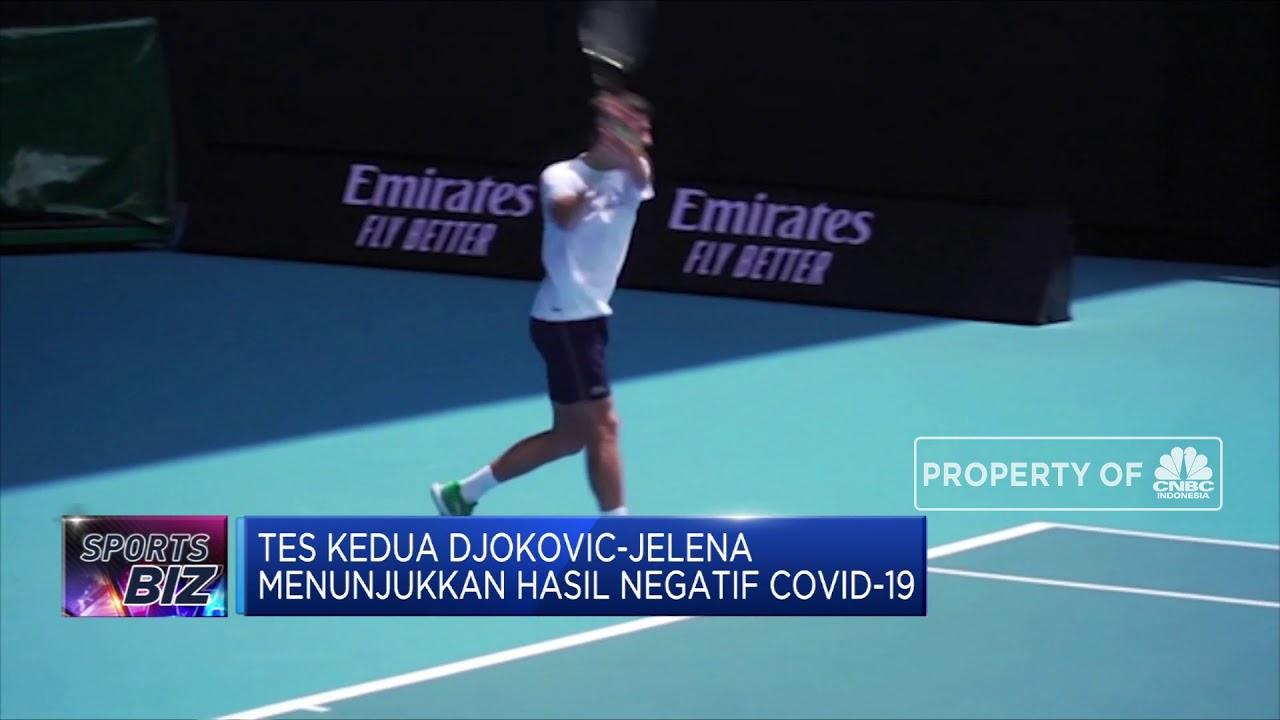 Petenis Djokovic dan Istrinya Sembuh dari Covid-19