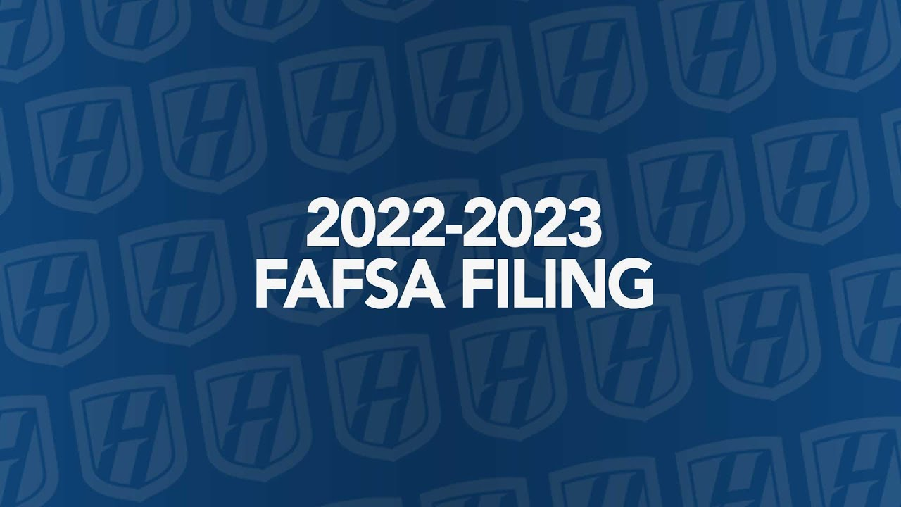 You can now file the FAFSA for the 2022-23 school year  here are ...