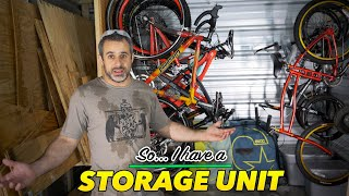 Bored? Watch a dude organize his storage unit!