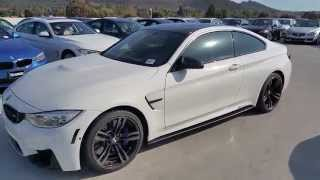 bmw m4 with m accessories custom paint m steering car review