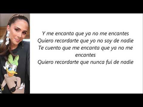 Greeicy - Menos De Ti (Letra)