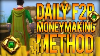 RuneScape 3: DAILY F2P MONEYMAKING METHOD! 500k A Day!