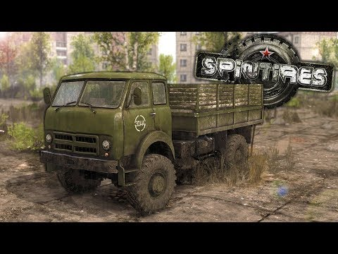 We Tried to Break into Chernobyl in the New DLC for Spintires Multiplayer Funny Moments! |