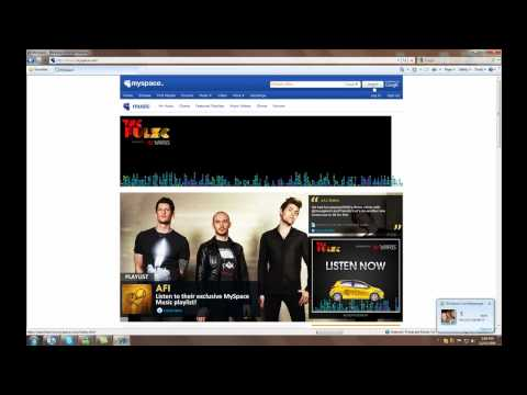 How To Download Music From Myspace | FREE *New and Working 2011* - PC TUTORIAL