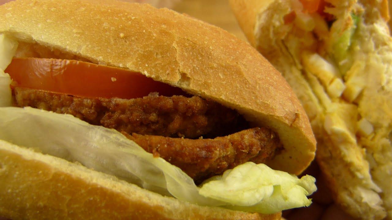 Deluxe Back - Sandwiches Meatball & Egg / Belegte Brötchen Bulette ...