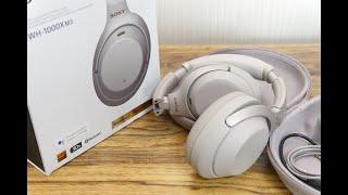 소니 WH-1000XM3 블루투스 노이즈 캔슬링 헤드폰…