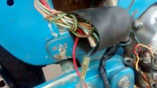 Rewiring A 1970 C70 Honda Motorcycle