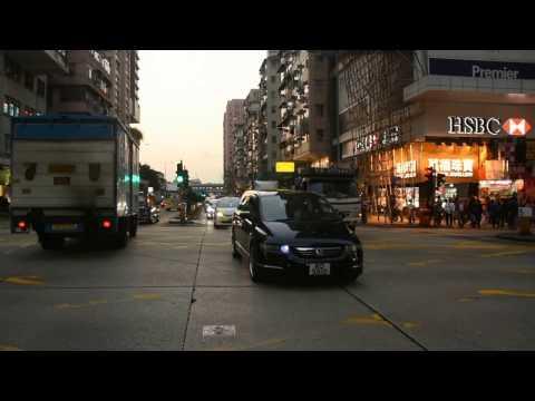 Hong Kong Traffic Police responding. (Ho Man Tin District, Kowloon City)
