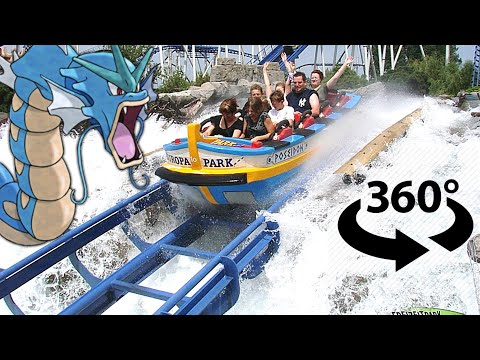 VR Video 360 Pokemon at Europa Park 🌐