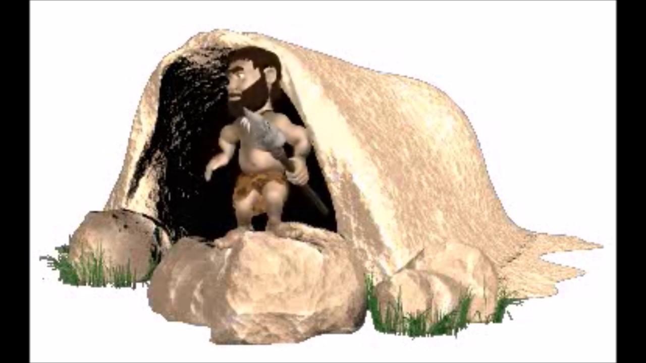 древние люди гифки его