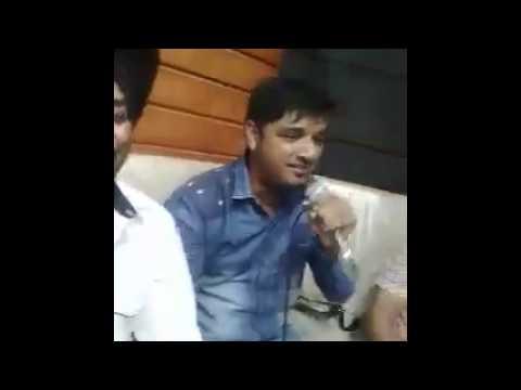 Aslam ali live 2 lehmbar husenpuri music studio with uk dj king lehmbar husenpuri and kaler kanthh
