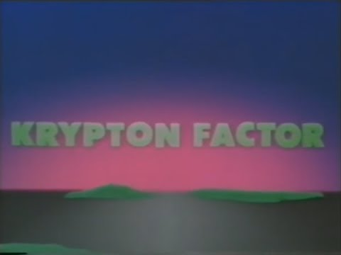 The Krypton Factor (5.11.1984) Grand Finale