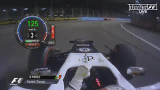 Video F1 Aggressive Drives Onboard | F1 2012 - R14 - Sergio Pérez onboard Singapore download MP3, 3GP, MP4, WEBM, AVI, FLV April 2018