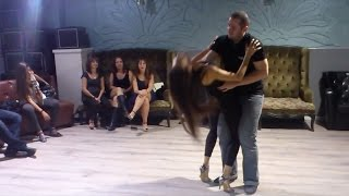 Bachata in Israel - After Class Demo - Music: Solita, Prince Royce