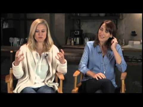 Vicky interviews Bree Turner and Clair Coffee of Grimm