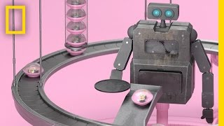 Vicious Cycle  This Cute Little Robot Has No Idea What's Coming | Short Film Showcase