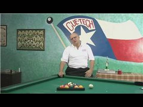Tips for Playing Billiards : How to Set Up Pool Table Balls - YouTube