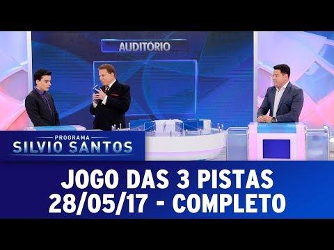 Jogo das 3 Pistas | Programa Silvio Santos (28/05/17)