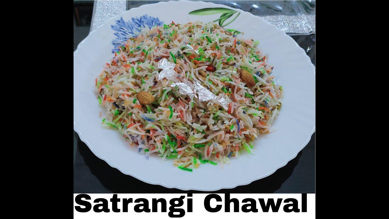 Satrangi Chawal Eid Special Mutanjan Sweet dish Recipe ...
