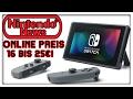 Switch Online-Gaming Preis bekannt! Namco Gründer tot! Nintendo Investorentreffen vom Januar 2017