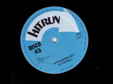 "Doctor Pablo & Crytuff All Stars - African Melody Dub - 12"" Hitrun 1979 - KILLER ROOTS"