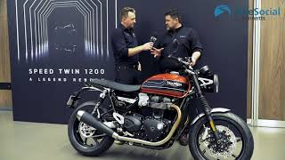 Triumph Speed Twin (2019) introduction and engine start!