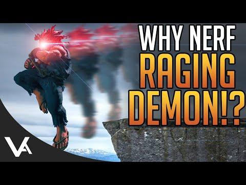 Akuma Raging Demon Nerfed Too Much In The Street Fighter 5 Winter Update?  