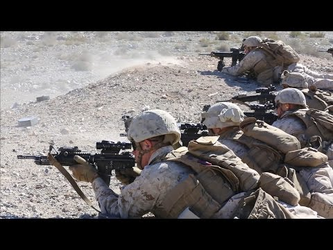 2/7 Marines Conduct Company and Platoon Attacks