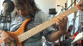 highway star organ solo on bass