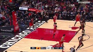 2nd Quarter, One Box Video: Chicago Bulls vs. Miami Heat