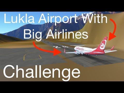 Using LUKLA as a BIG INTERNATIONAL Airport