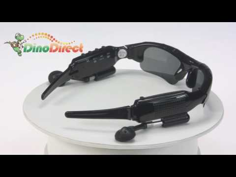 4GB Spy Sunglasses MP3 Player with Hidden Camera & Video Recorder DV88  from Dinodirect.com