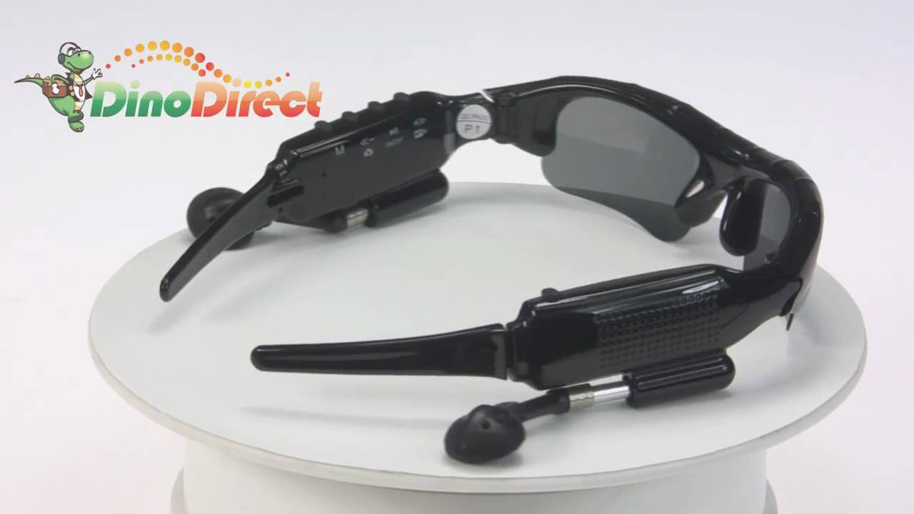 a8fc62f916 4GB Spy Sunglasses MP3 Player with Hidden Camera   Video Recorder DV88 from  Dinodirect.com