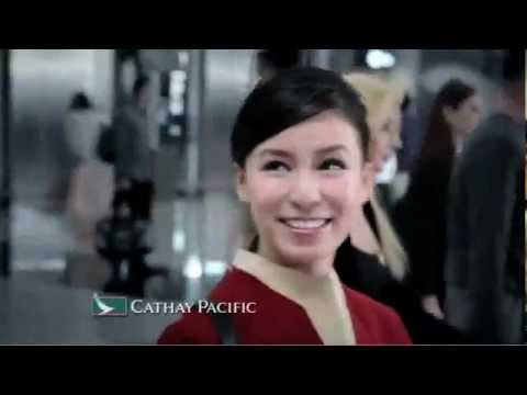 Cathay Pacific - People. They make an airline. TVC - Alice Wong, Flight Purser