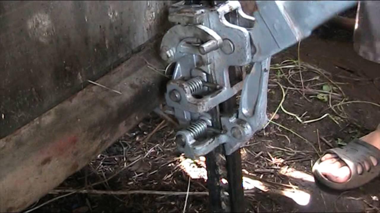 усиливаем штатный бампер на ниве под реечный домкрат (хайджек .