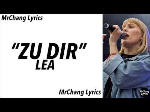 LEA - Zu dir (LYRICS/English Translations)