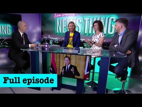 Go on then David Cameron, Fuck Off (Full episode: 17th Sep 2016) - News Thing