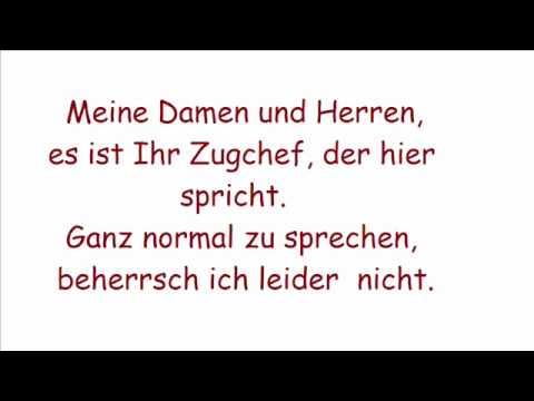 Wise Guys - Deutsche Bahn with lyrics