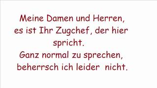 Wise Guys - Deutsche Bahn with lyrics