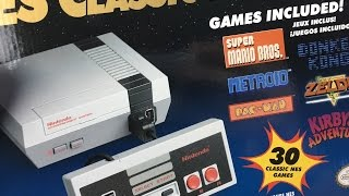 Nintendo NES Classic Edition Is Here!! And, A Breathalyzer?