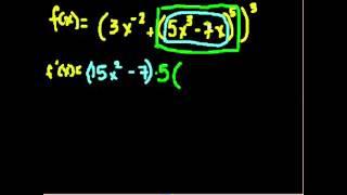 Правило дифференцирования сложной функции. Примеры