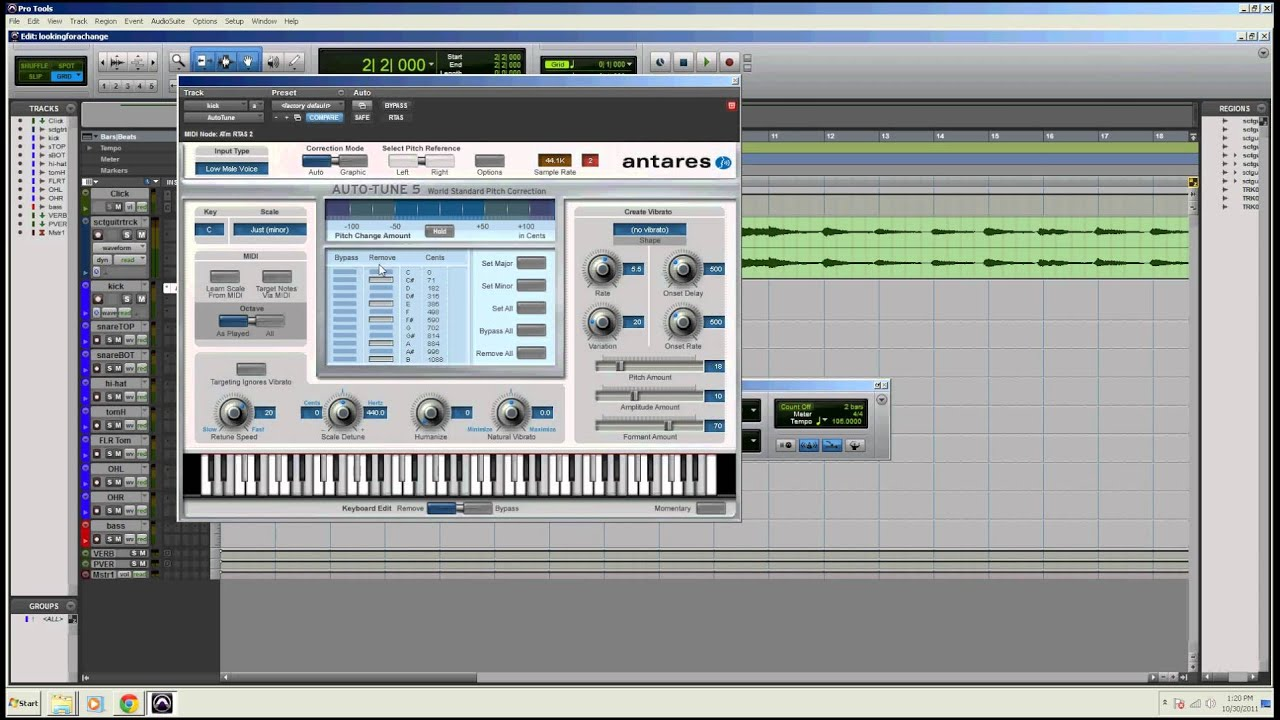 how to add autotune to pro tools 10