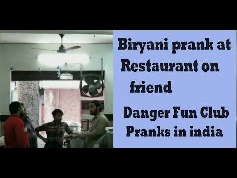 pranks to play on friends at restaurants