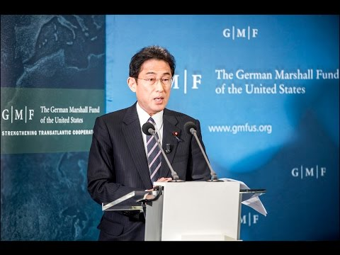 A Keynote Address by Fumio Kishida, Minister for Foreign Affairs, Japan