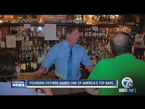 Founding Fathers named one of America's top bars